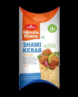 Haldiram's Shami Kebab Wrap 156g