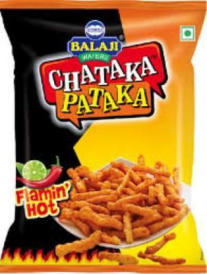 Balaji Chataka Pataka Flaming Hot 65g