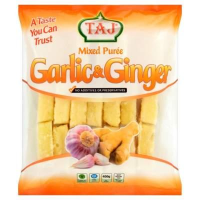 Taj Crushed Garlic & Ginger 400g