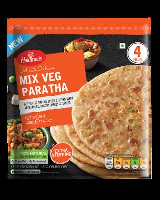 Haldiram's Mixed Veg Paratha 400g
