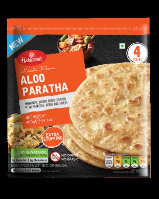 Haldiram's Aloo Paratha 400g