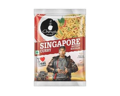 Ching's Singapore Curry Noodles 60g Pack of 5