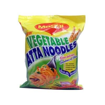 Maggi Veg Atta Noodles 70g Pack of 10