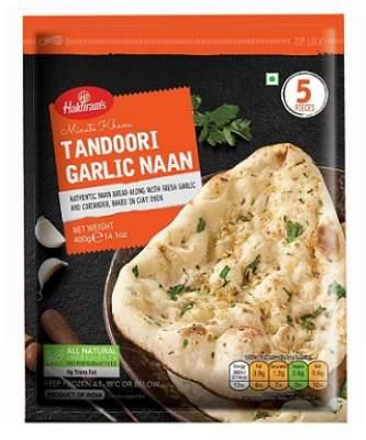 Haldiram's Tandoori Garlic Naan 400g