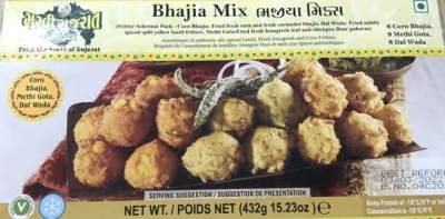 Garvi Gujarat Bhajia Mix 432g