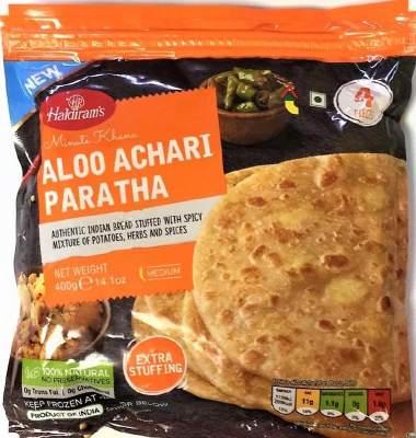 Haldiram's Aloo Achari Paratha 400g