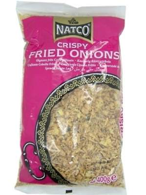 Natco Crispy Fried Onions 400g
