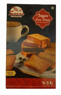 Saras Sugarfree Toast 200g