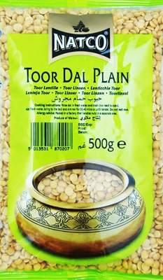 Natco Toor Dal Plain 500g (Buy 2 Get 1 FREE)