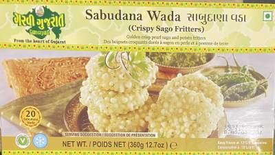 Garvi Gujarat Sabudana Vada 360g