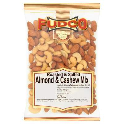 Fudco Almonds and Cashews Roasted Salted Mix 200g