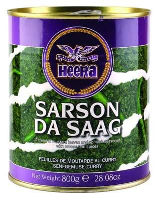 Heera Sarson Da Saag 800g