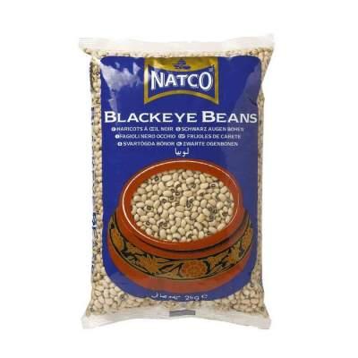 Natco Black Eyed Beans 2kg