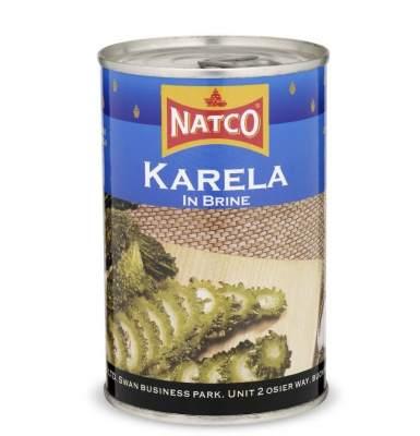 Natco Karela In Brine Tin 400g