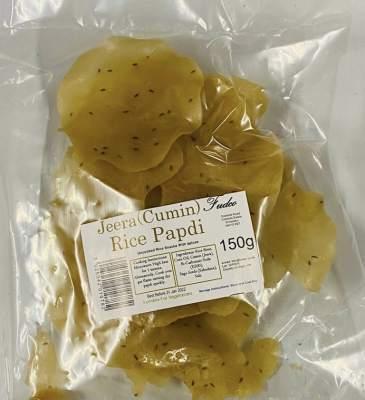 Fudco Rice Papdi Large - Jeera 150g