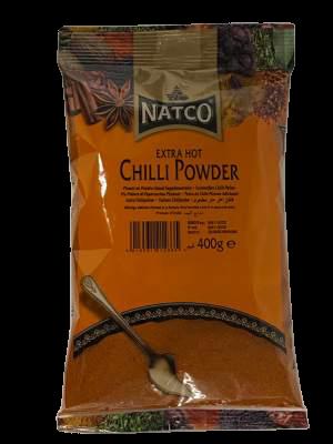 Natco Chilli Powder Extra Hot 400g