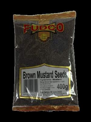 Fudco Mustard Seeds (Brown) 400g