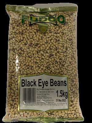 Fudco Black Eye Beans 500g