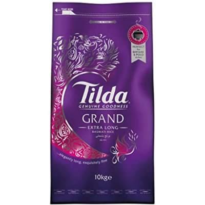 Tilda Grand Extra Long Basmati Rice 10kg