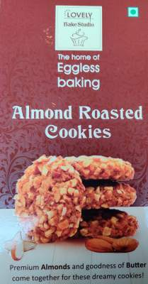 Lovely Eggless Cookies Almond Roasted 200g
