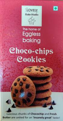 Lovely Eggless Cookies Choco-Chip 200g