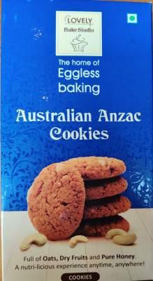 Lovely Eggless Cookies Australian Anzac 200g