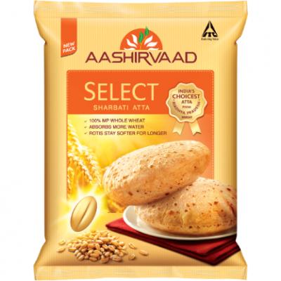 Aashirvaad Select Sharbati Atta 10kg