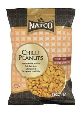Natco Chilli Flavoured Peanuts 200g