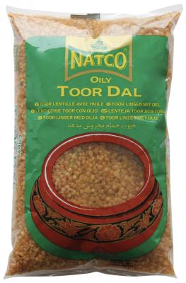 Natco Toor Dall Oily 2kg