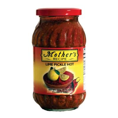 Mother's Lime Pickle Hot 500g