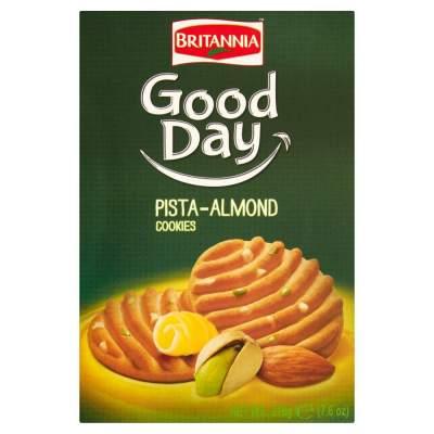 Britannia Pista-Almond Biscuits (Large Pack) 216g