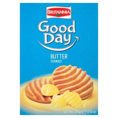 Britannia Butter Biscuits (Large Pack) 216g