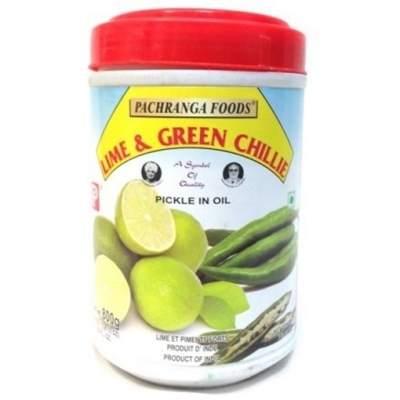 Pachranga Lime & Green Chilli Pickle 800g