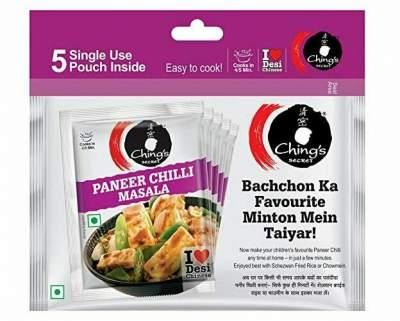 Ching's Chilli Paneer Masala Combo Pack 100g