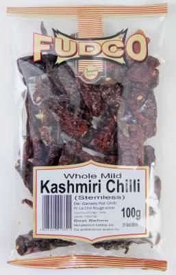 Fudco Whole Mild Kashmiri Chilli 100g