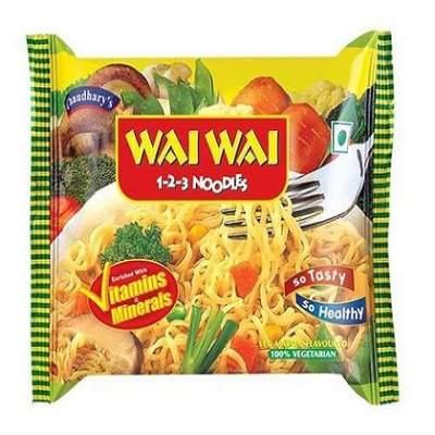 Wai Wai Vegetable Noodles 77g