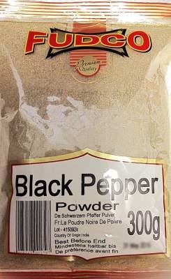 Fudco Black Pepper Powder 300g