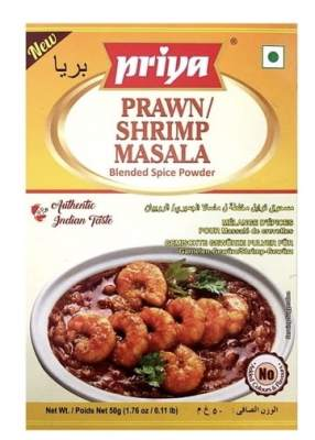 Priya Prawn Shrimp Masala 50g