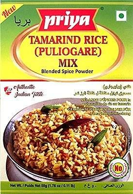 Priya Tamarind Rice (Puliogare Mix) 50g