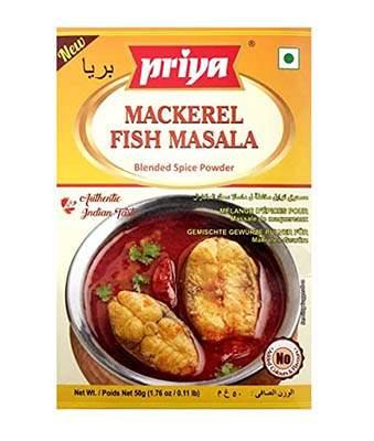 Priya Mackerel Fish Masala 50g