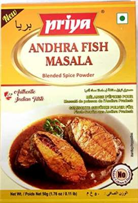 Priya Andhra Fish Masala 50g