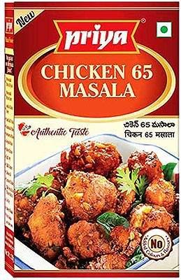 Priya Chicken 65 Masala 50g