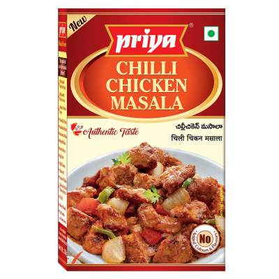 Priya Chilli Chicken Masala 50g