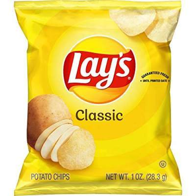 Lays Classic Salted 52g Pack of 10