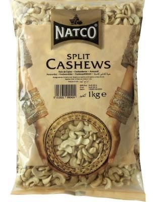 Natco Cashew Nuts Split 1kg