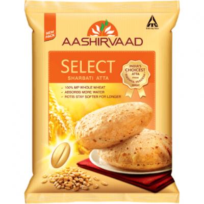 Aashirvaad Select Sharbatti Atta 5kg