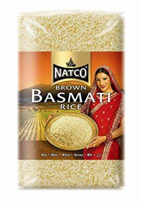 Natco Premium Brown Basmati Rice 2kg