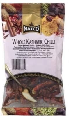 Natco Kashmiri Chilli Whole 80g