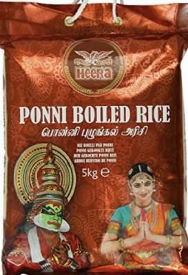 Heera Ponni Boiled Rice 5kg