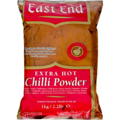 East End Chilli Powder Extra Hot 1kg